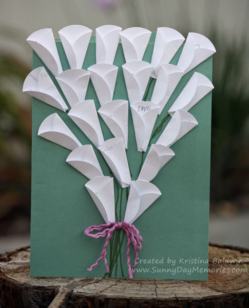 Teacher Appreciation Calla Lily Card