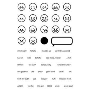 Emojis Stamp Set