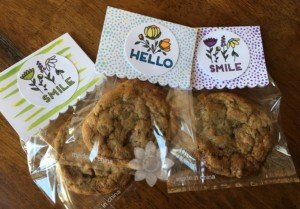 Create Kindness Cookie Bag Toppers