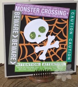 Monster Crossing Card