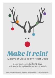12 Days of CTMH Deals