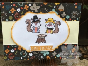 Forest Feast Thanksgiving Card