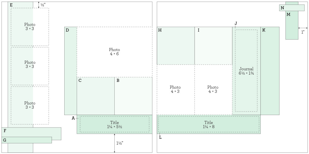 Scholastic Layout Pattern Template