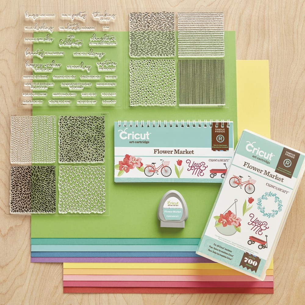 CTMH Cricut Flower Market Collection
