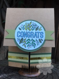 Congrats Double Dutch Card