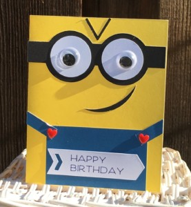 One in a Minion Birthday Card