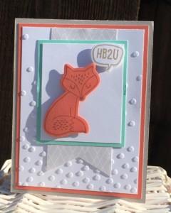 Some Kinda Wonderful Fox Card