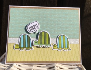 Some Kinda Wonderful Turtle Card