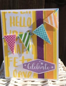Sugar Rush Celebrate Card