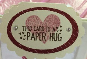 Operation Smile Paper Hug Card