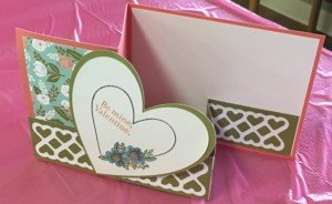 Z Fold Stamp of the Month Card
