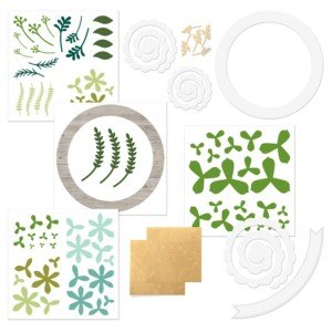 CTMH Welcome Home Wreath Kit Contents