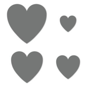 Basic Hearts Thin Cuts dies