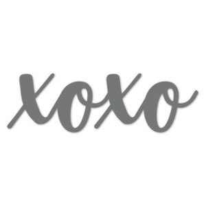 XOXO  Thin Cuts Die
