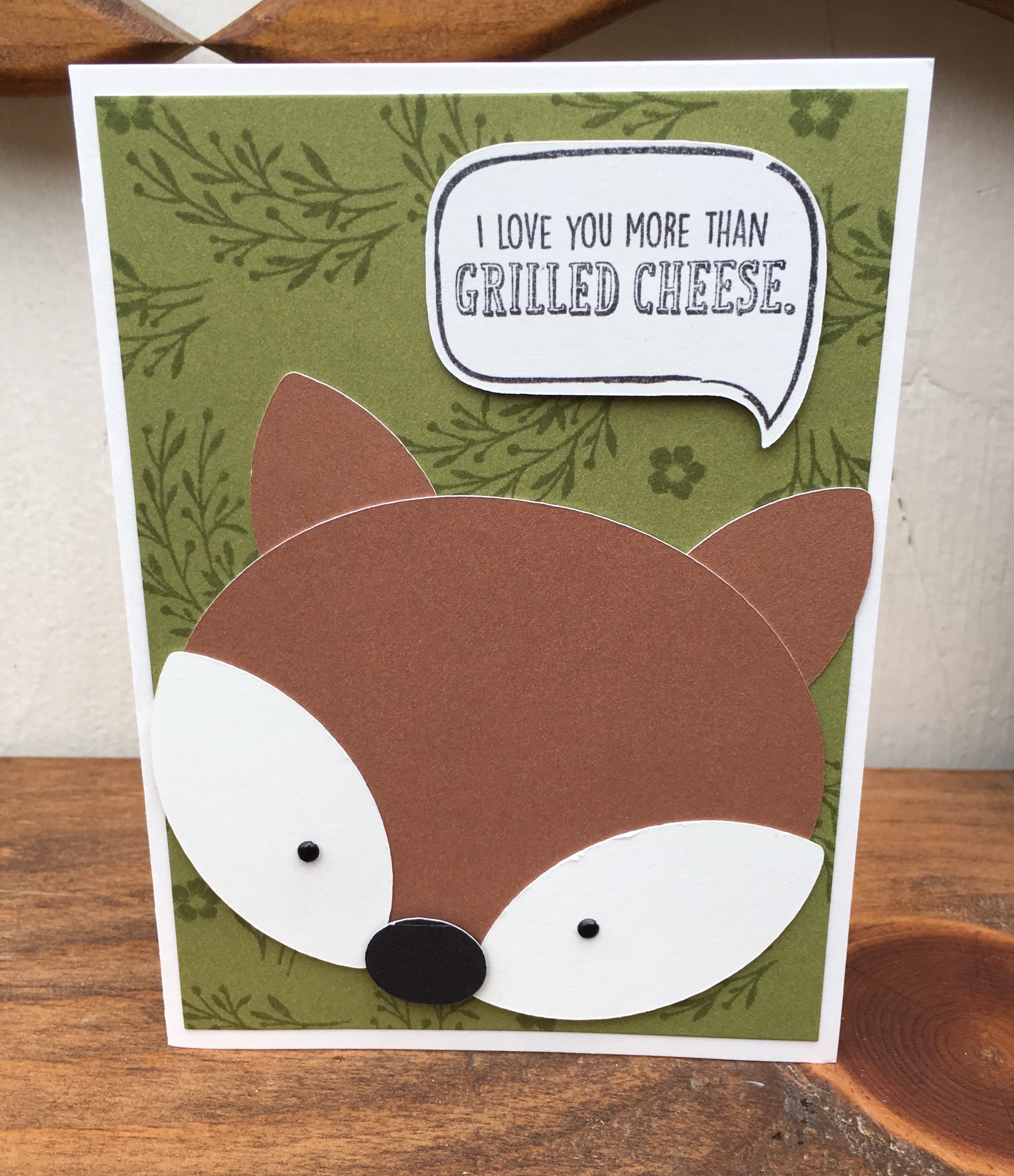 Silly Sayings Card