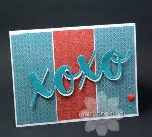 XOXO Valentine's Card