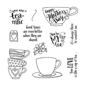 March Stamp of the Month Tea-rrific