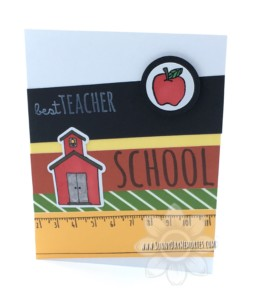 School Kids Teacher Appreciation Card