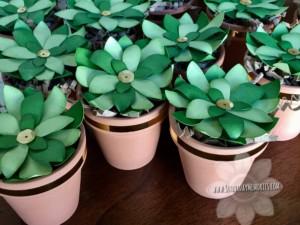 Flower Market Paper Succulents