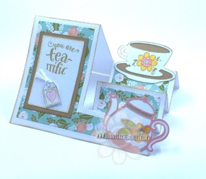 Side View Tea-rrific Side Step Card