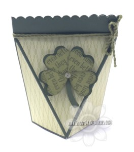 Tea-rrific St Patricks Self Closing Box