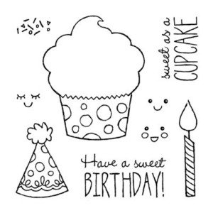 Sweet Birthday Stamp Set