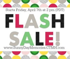 April CTMH Flash Sale