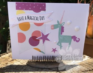Magical Day Unicorn Card