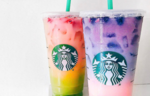 Starbucks Unicorn Frappuccino Drinks