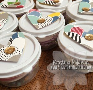 Scrapbook Crop Bingo Containers