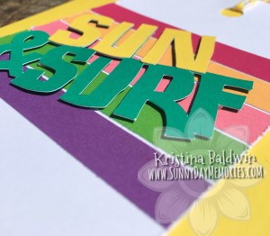 Angled Sun & Surf Cricut Flower Market Card