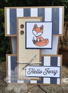 Hello Foxy Card