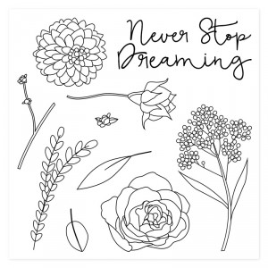 Keep Dreaming Stamp Set