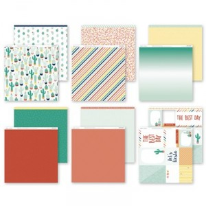 CTMH's Prickly Pear Paper Pack