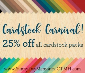 CTMH Cardstock Carnival