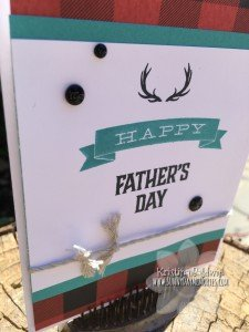 Closeup Father's Day Card