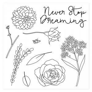 Keep Dreaming Stamp Set