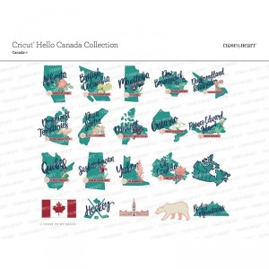 Cricut Hello Canada Images