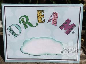Storybook Alpha Dream Card