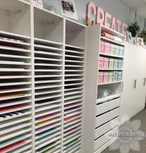 Art Studio Supply Wall