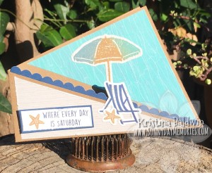 Summer Twist Fold Gift Card Holder