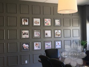 Scrapbook Layout Art Wall