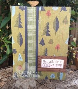 Outdoor Celebration Recessed Panel Card