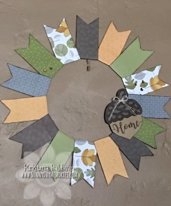Falling For You Wreath