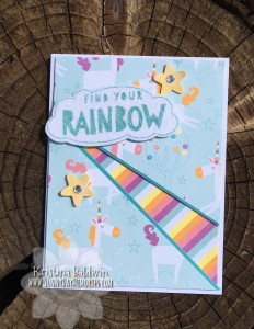 Rainbow Recessed Panel Card