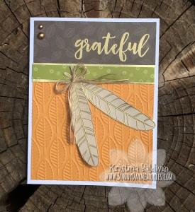 Grateful Feel So Blessed Card