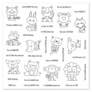 Punny Pals Operation Smile Stamp Set