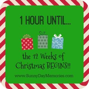 1Hour Notice 12 Weeks of Christmas