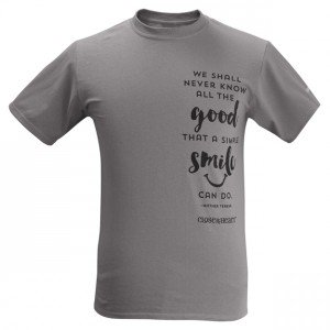Grey Operation Smile T-shirt