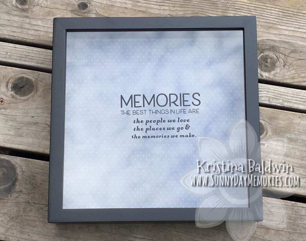 Memory Shadowbox